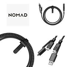 Nomad Ultra Rugged Universal 4 in 1 USB-C Kabel 1.5m mit Micro USB
