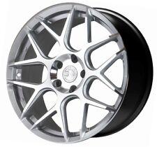 18X8 +35 AodHan LS002 5X100 Silver Wheel Fit Scion FR-S GT86 BRZ WRX NEON SRT 4