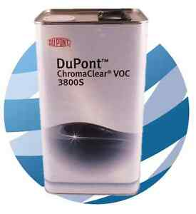 DuPont 3800S Chromaclear VOC  5 litre   Clear Lacquer Clearcoat  Chromax