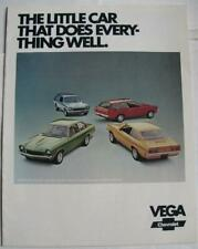 CHEVROLET Vega Sales Brochure Sep 1972 USA #2229