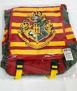 NEW Harry Potter Hogwarts Interchangeable Backpack/Messenger Bag