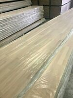 SOLID OAK WORKTOP 40mm STAVES! 1M 2M 3M, 40mm/27mm/20mm thick Top Quality Wood!