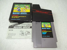 Mario Bros. NES Spiel Bienengräber komplett mit kleiner OVP und Anleitung