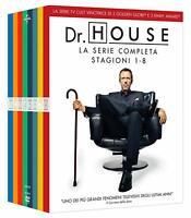 Dr. House - La Serie Completa - Stagioni 1-8 - Cofanetto 46 Dvd - Nuovo