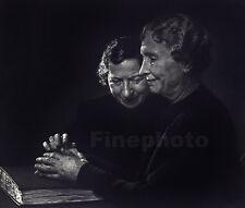 1948/67 Vintage HELEN KELLER PORTRAIT Blind Deaf Author Photo Art ~ YOUSUF KARSH