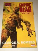 Empire of the Dead Vol 2 TPB Marvel 2015 Collects Act 2 #1-5 Romero