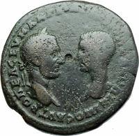MACRINUS & DIADUMENIAN Authentic Ancient 217AD Roman Coin w NEMESIS i79022