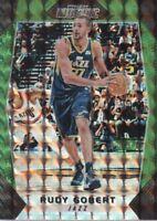 2017-18 Panini Prizm Mosaic Green #85 Rudy Gobert Utah Jazz