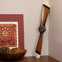 Small Wooden WWI Airplane Propeller Home Decor