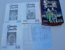 Vintage Chivalry and Sorcery Roleplaying Fantasy Game RPG 2nd Edition 1983 &