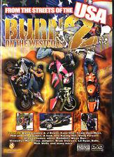 DVD Burn on the Westcoast 2 - Motocross from Streets of USA - nuevo emb. orig.