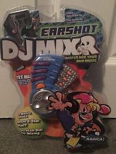 2001 Radica Earshot Dj Mixr Master Mix Your Own Music Electronic Handheld New