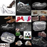 3D Kunststoff Auto Backformen Pralinenform Backform Schokolade Handtasche Pro