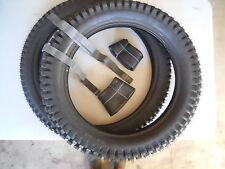Set Mitas ClassicTrials Tyres - Tubes Combo 2.75 - 21 + 4.00 - 18, FREE Rim Band