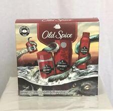 Old Spice Swagger Men 4 Pc Set  Body Wash Body Spray 2 Deodorants Action Helmet