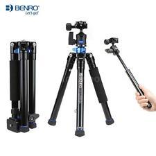 Benro Aluminum Alloy Tripod Monopod Kit + Ball Head for DSLR Camera Smartphones