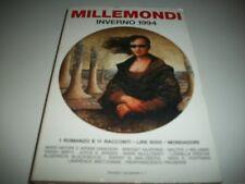 URANIA MILLEMONDI INVERNO 1994-ROMANZO E 11 RACCONTI DI AA.VV-MONDADORI OTTIMO!