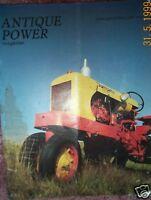 Farmaster tractor, Case RC ANTIQUE POWER Magazine 1992