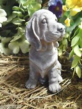 Latex only basset bloodhound beagle dog mold plaster concrete casting mould