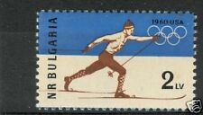 OLYMPIC WINTER GAMES SQUAW VALLEY 1960 BULGARY 1960 a