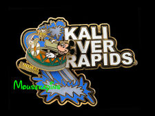 WHITE WATER RAFTING Mickey & Donald on KALI RIVER RAPIDS Disney 3D Slider Pin