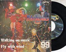 PETER JACQUES BAND disco 45 giri STAMPA ITALIANA Walking on music 1979