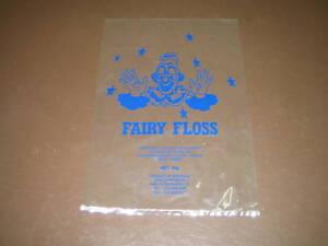 Fairy Floss Bags with Clown Face (1,000)