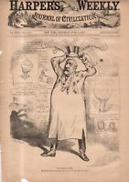 1880 Harpers Weekly - Nast - Everybody is going to vote for Blaine - and hot air
