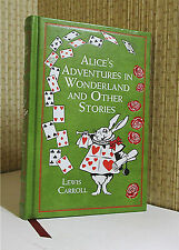 ALICE IN WONDERLAND, Lewis Carroll, Leather, Illustrated, THROUGH THE LOOKING