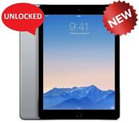 NEW Apple iPad Air 1st Gen 16GB, Wi-Fi + AT&T (Unlocked), 9.7in - Space Gray