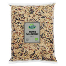 Organic Wild Rice Mix 1kg Certified Organic