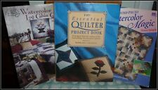 QUILTING BOOKS (3) - VERY NICE CONDITION - SEE BELOW FOR DETAILS