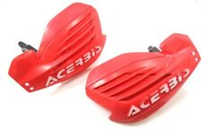 2007 Honda CRF450R CRF 450R Red Acerbis 7/8 Hand Guards (Crack)