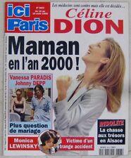 Revue Ici Paris Aout 1999 Céline Dion