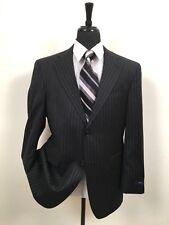 Hickey by Hickey Freeman Chalk Stripe Sport Coat Blazer Jacket sz 40S Men's 40 S