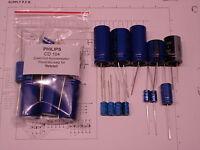 PHILIPS CD 104 Player Netzteil Elko-Satz recap power supply recapping kit VISHAY
