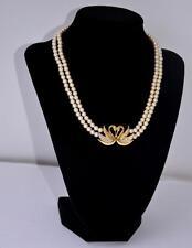 Pearl (Imitation) Gold Vintage Costume Jewellery