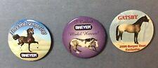 3 Breyer Pins, Gatsby 2000 Breyer Tour, Huckleberry Bey, I Collect Breyer Models