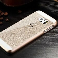 For Samsung Note 8 S8 Plus S7 A3 A5 Luxury Bling Glitter PC Hard Back Case Cover