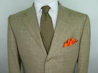 Ermenegildo Zegna 15 MilMil 15 Men Wool Glen Plaid Blazer Jacket Sport Coat 40 R