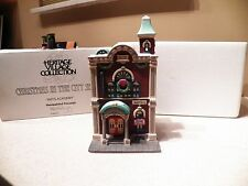 """Department 56 Christmas In The City """"Arts Academy"""""""