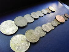 Year Sets: Circulated, Pre-decimal, UK coins 1953 to 1967 Crown to Farthing