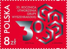 POLEN 2021 Stamp 30th Anniversary of the Establishment of the Visegrad Group(202