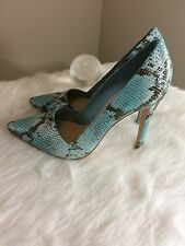 Alice   Olivia Animal Print High Heels Shoes. Size 10