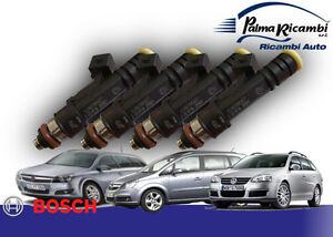 Einspritzdüsen Bosch Set 4p 0280158827 Opel Astra G Sw Zafira 1.6 Golf IV
