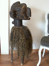 ancienne Statue africaine. old African statue Baga Nimba
