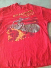 Vintage 80s Joe Satriani Silver Surfer T-Shirt M or L MARVEL 1988 Surfing with
