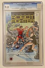 Magnus Robot Fighter #1 CGC 9.8 WHITE Pages Trading Cards Included 1991