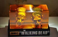 The Walking Dead Walker Head Statue Negan Grimes Dixon Zombie Figure Horror