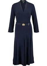 RALPH LAUREN Lorraine Matte Jersey Regal Dress BNWT